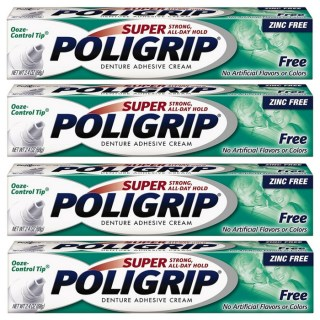 FREE Super Poligrip Denture Adhesive Cream At Walmart!