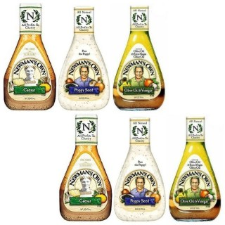 Newman's Own Salad Dressing Just $0.98 At Walmart!