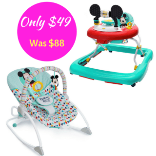 Disney Mickey Walker And Rocker Bundle Just $47! Down From $88! PLUS FREE Shipping!