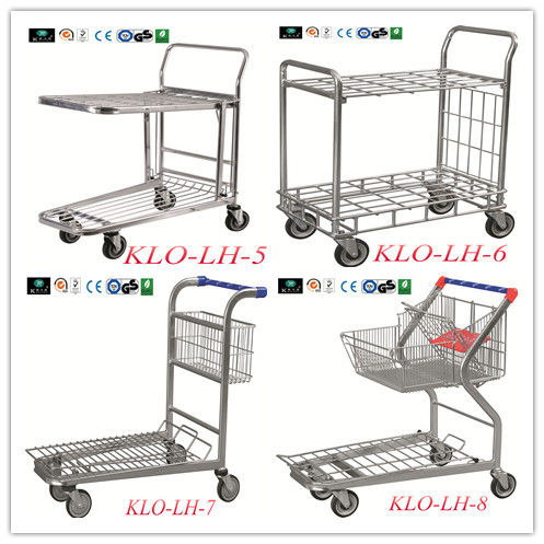 European Style Disabled Supermarket Shopping Trolley Cart