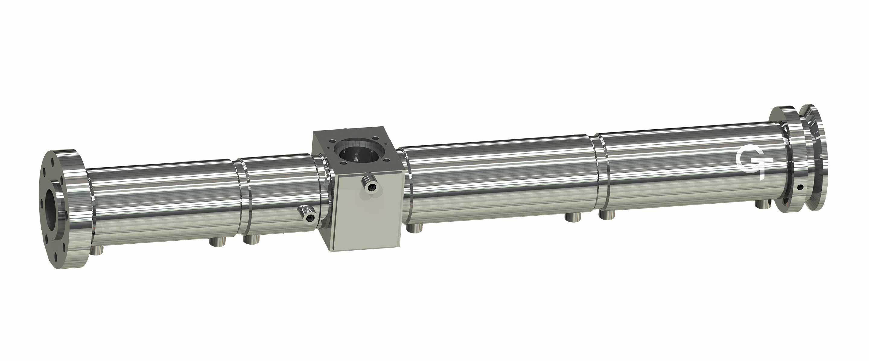 Der Extruder-Zylinder wird aus Nitrierstahl oder Bimetall hergestellt.