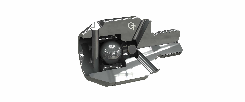 Die Kugel-Rückstromsperre schließt gleichmäßiger, lässt aber den Durchflussquerschnitt schrumpfen. Geeignet für niederviskose Kunststoffe. Erhältlich ab Ø 45.
