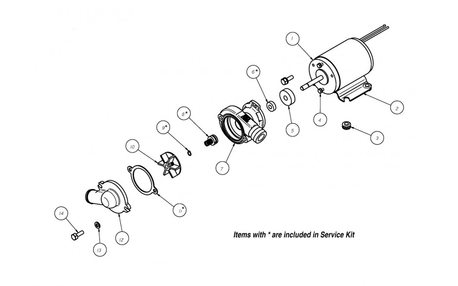 CP-20-BB 24V Automotive Continuous Duty Centrifugal Pump|GROCO