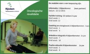 Rijndam oncologische revalidatie