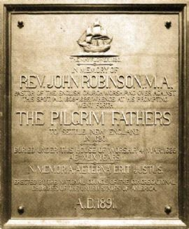 Pilgrim Fathers citywalk in English