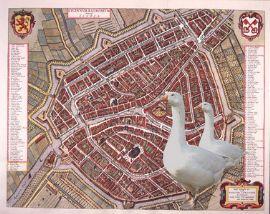 City Goose Game Leiden