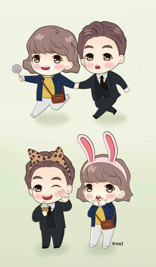 Wallpaper Cute Little Girl Cartoon Color Yourself Giddy With These K Drama Mobile Wallpapers