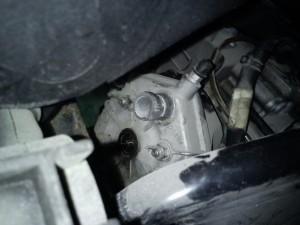 Aprilia SR 50 R Talmacsi accidentat