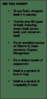 Basil Facts
