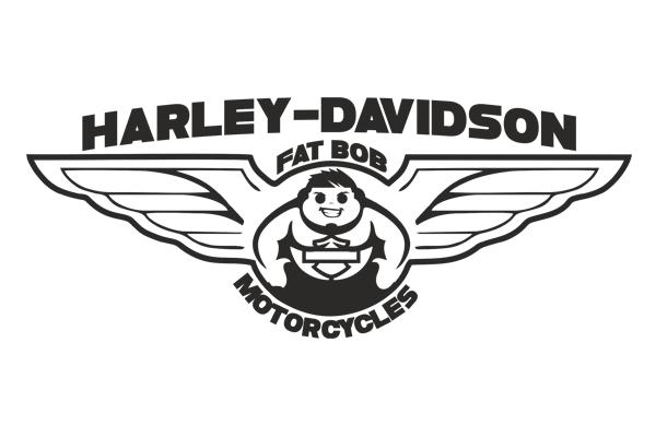 T-Shirt HARLEY DAVIDSON FAT BOB DLA WIELBICIELI MOTOCYKLI