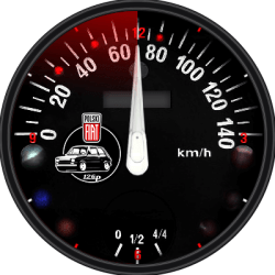 FIAT 126p WATCH FACE FOR ANDROID SMARTWATCH