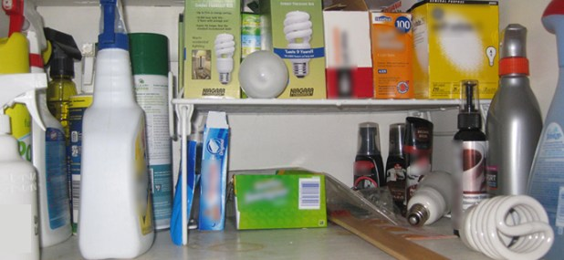 gathered supplies