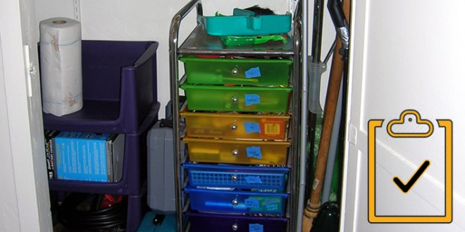 Organize Your Utility Closet: The Checklist