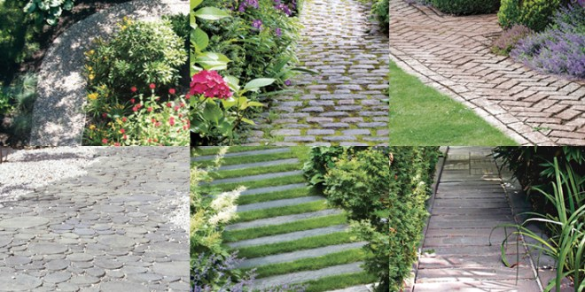6 Garden Path Ideas