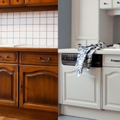 Buy Old Kitchen Cabinets Cutting Board Countertop 15 Ideas To Revamp Your Without Breaking The Bank Groomed Home