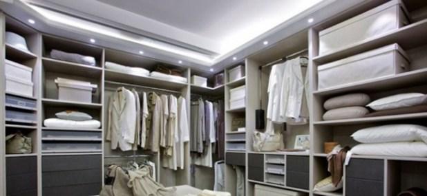 recessed closet