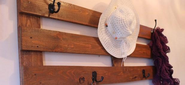 decorative coat rack
