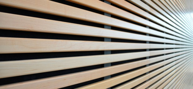 lined wood