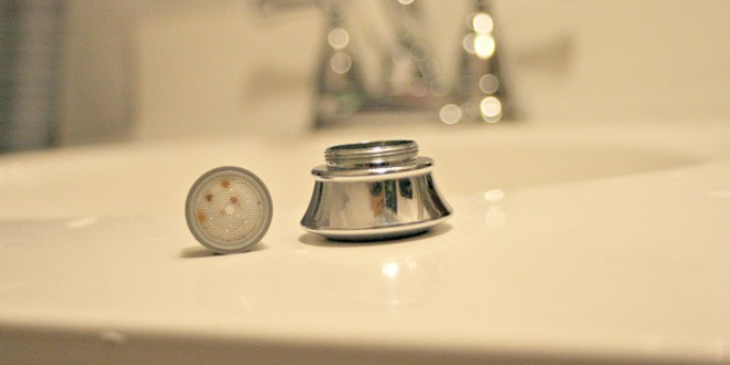 Clean Your Faucet Aerator