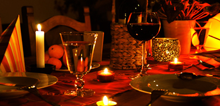 3 Basics For A Perfect CandleLight Dinner  Groomed Home
