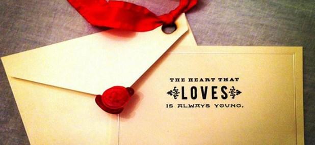 romantic invitation