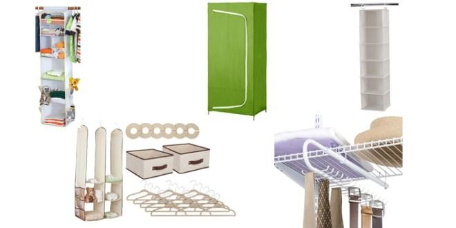 7 Useful Closet Organizers