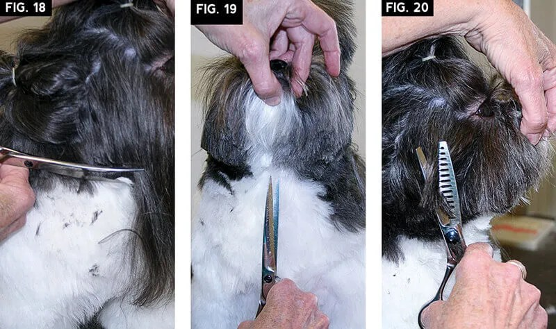 small drop coat trim fig 18 - 20