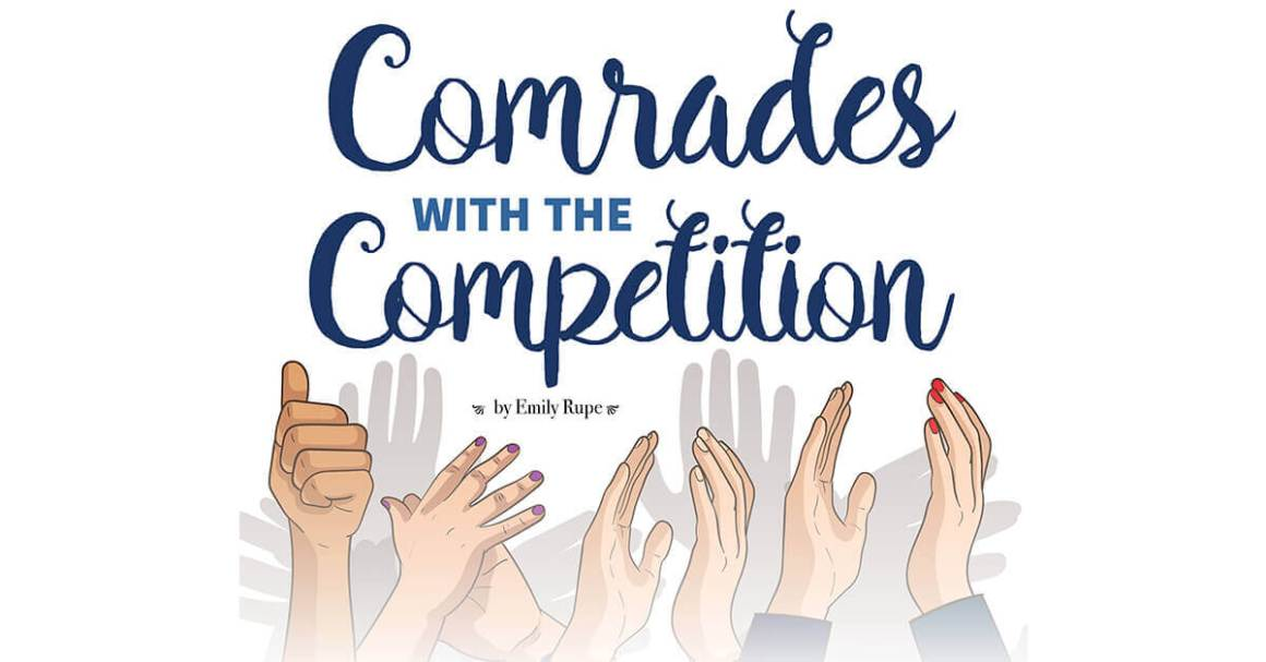 Comrades with the competition