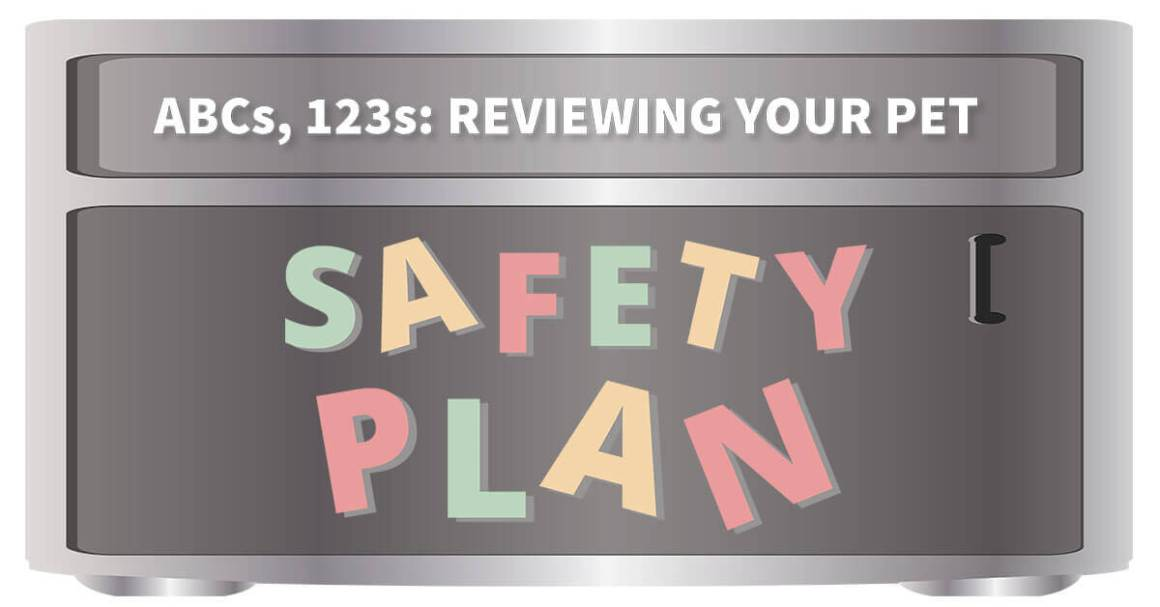 Abcs, 123s: Reviewing Your Pet Safety Program
