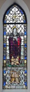 The Elizabeth Window, made by Whitefriars of London