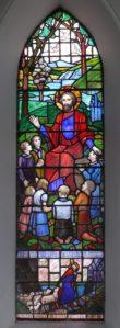 The Good Shepherd Window designed by Irish artist Kitty O'Brien