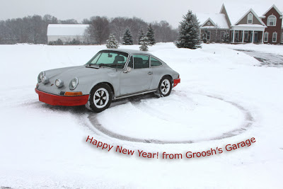 1971 Porsche 911T Enjoying the Snow