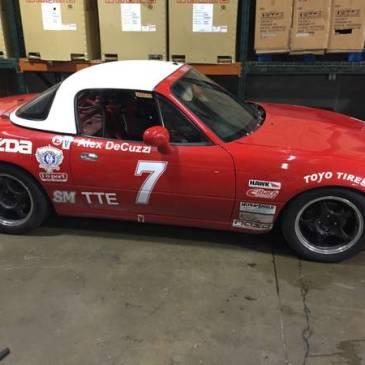 1994 Mazda MX-5 Miata R Mazda Miata Spec Race Car Hard top Miata full (brunswick)