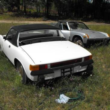 The Same Four Porsche 914s Two Seasons Later and a Town Over  – $4500 (Copemish)