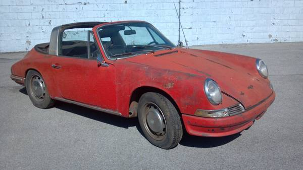 How Long Will The 1967 Porsche 911 Soft Window Targa Project Last?