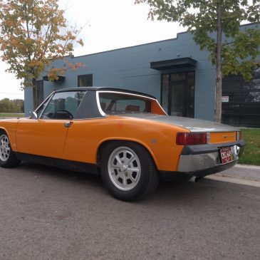 For Sale – 1972 Porsche 914 with 2.0 Liter Engine Swap