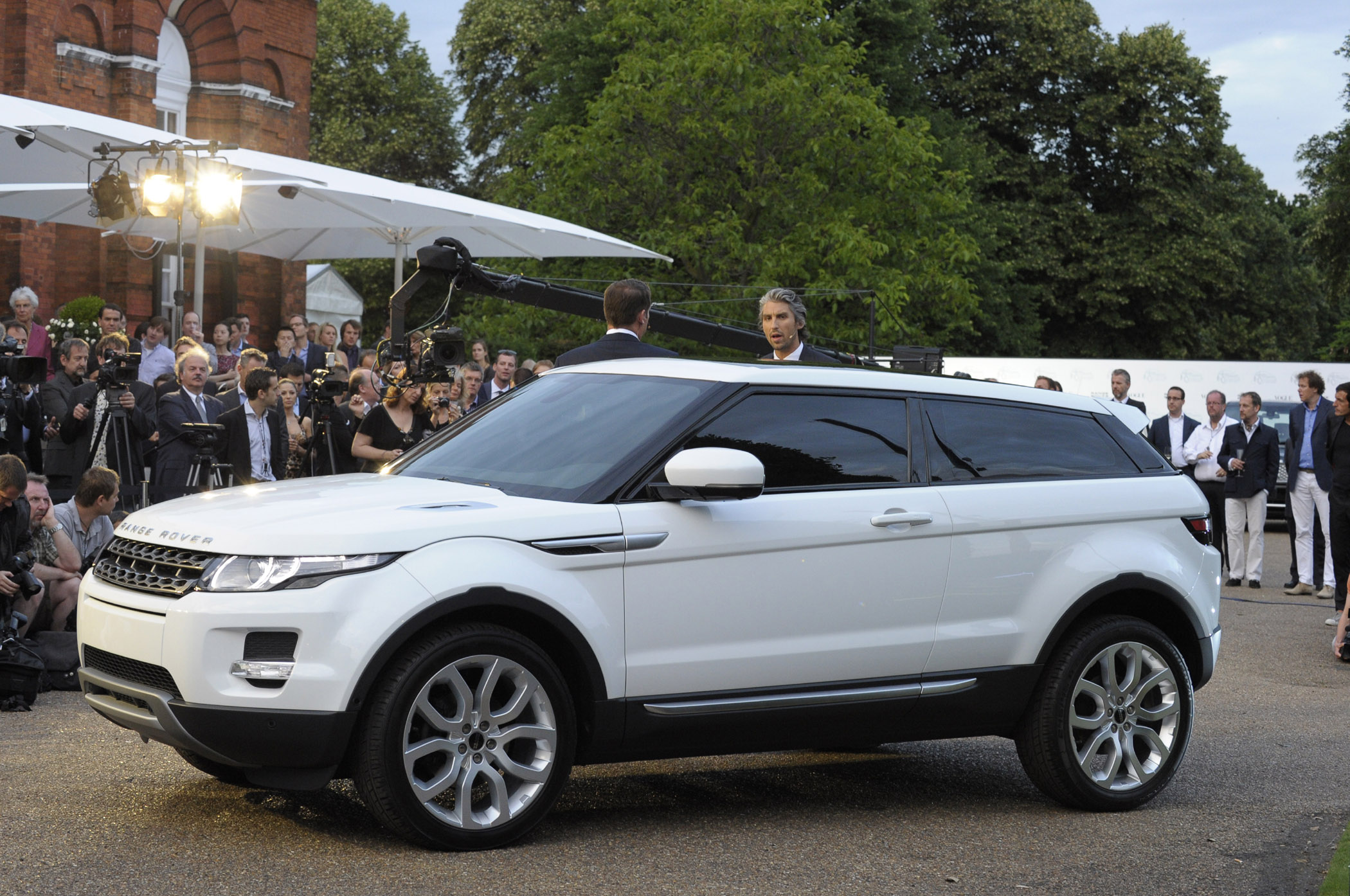 Making History with Evoque Many Land Rover Firsts Get f the
