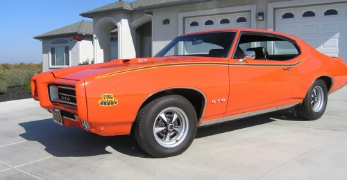 small resolution of fisher learned this pontiac was built during the third week of march in 1969 at the general motors plant in fremont calif the 16 foot 9 25 inch long gto