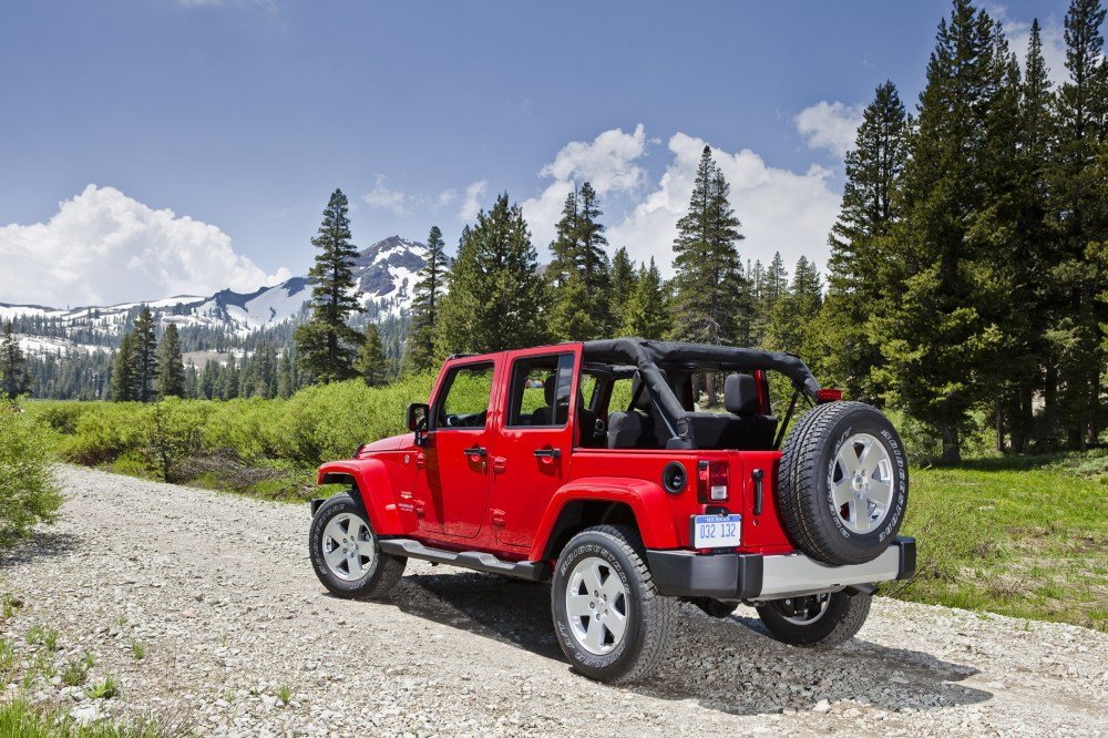 medium resolution of the jeep wrangler unlimited is distinguished from the base wrangler with a longer wheelbase plus the addition of two doors the four door unlimited makes
