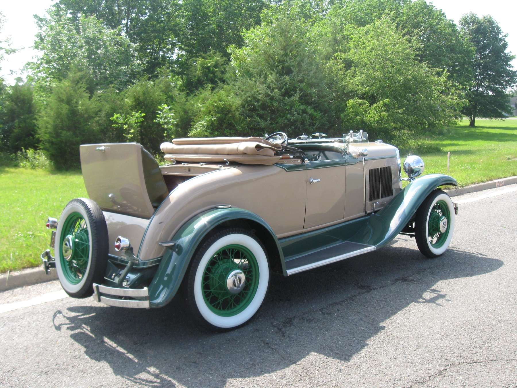 hight resolution of beneath the engine hood ventilated with 30 louvers on each side is an inline four cylinder 196 cubic inch engine that developed 48 horsepower