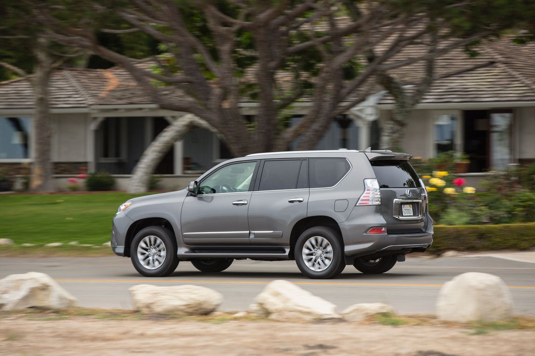 2016 Lexus GX 460 4WD Shelter in a Storm Get f the Road
