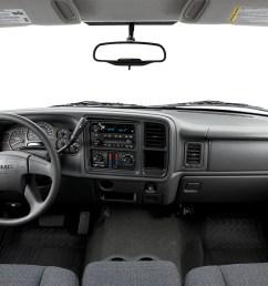 2006 gmc sierra 1500 sl centered wide dash shot [ 1280 x 960 Pixel ]