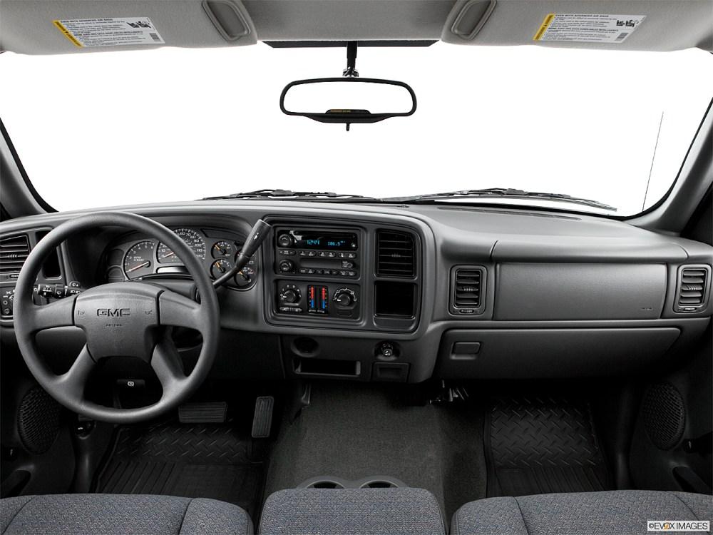 medium resolution of 2006 gmc sierra 1500 sl centered wide dash shot