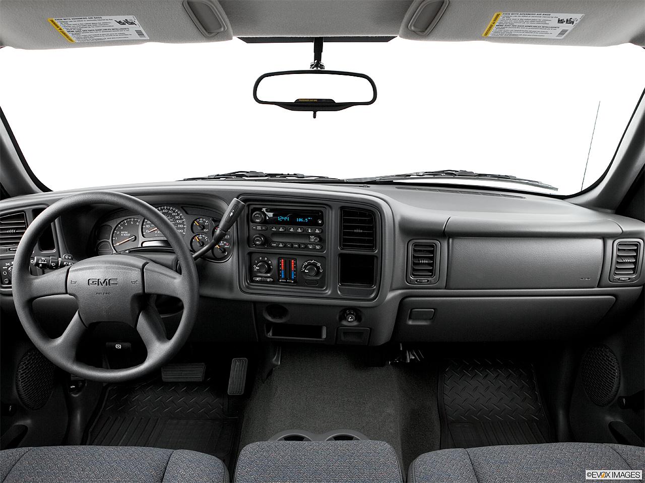 hight resolution of 2006 gmc sierra 1500 sl centered wide dash shot