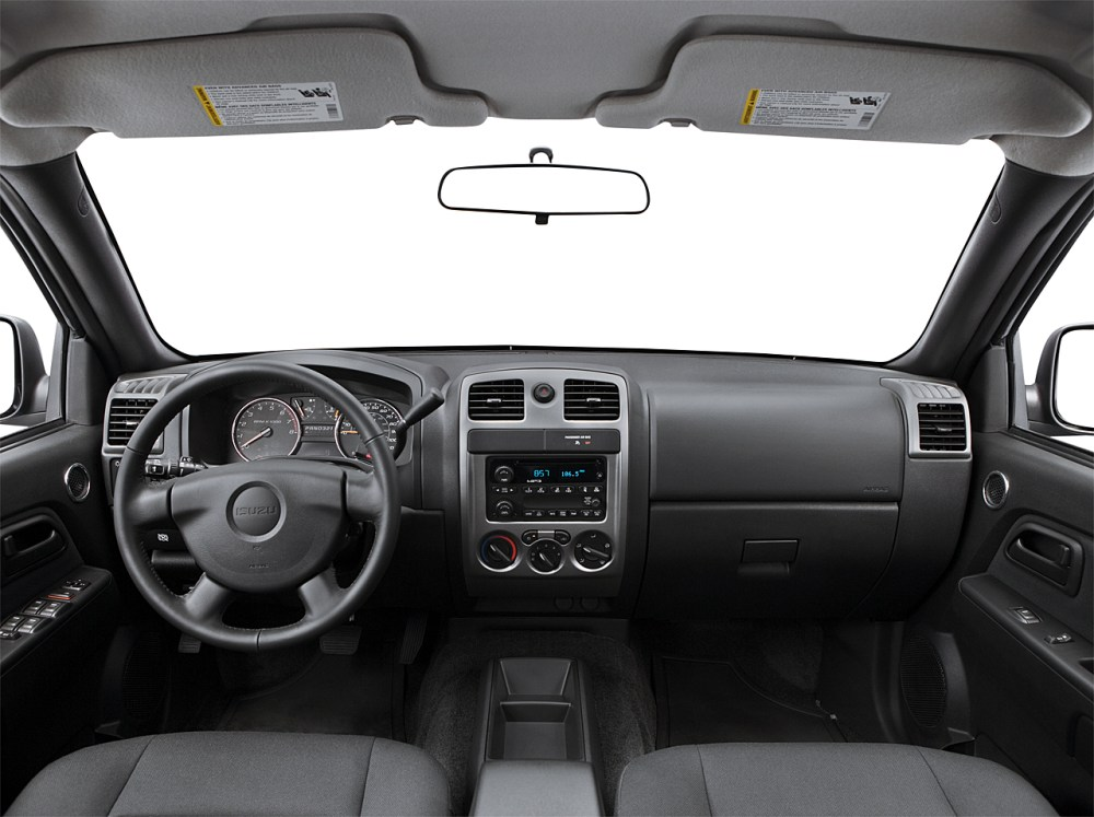 medium resolution of 2007 isuzu i370 ls centered wide dash shot