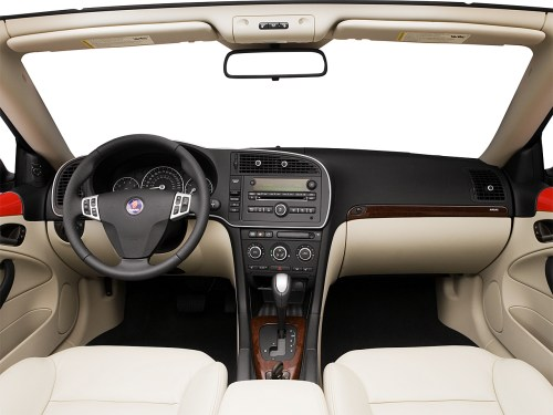 small resolution of 2008 saab 9 3 2 0t centered wide dash shot