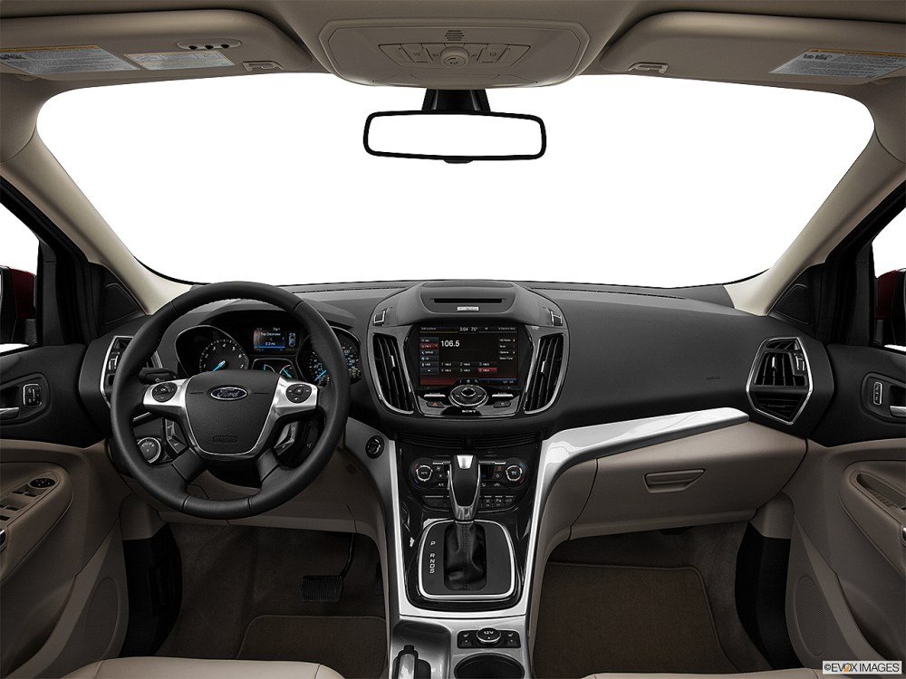 medium resolution of 2013 ford escape sel centered wide dash shot
