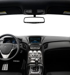 2016 hyundai genesis coupe 3 8 ultimate centered wide dash shot [ 1280 x 960 Pixel ]