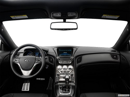 small resolution of 2016 hyundai genesis coupe 3 8 ultimate centered wide dash shot