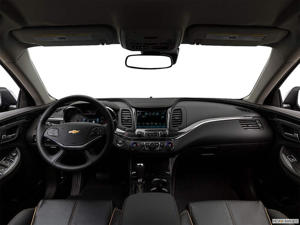 medium resolution of 2018 chevrolet impala premier centered wide dash shot